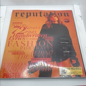 Other - New Taylor Swift reputation volume 1 Cd and Book